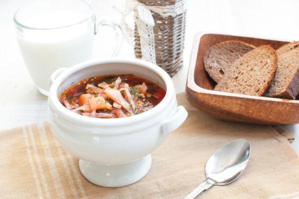 Rajčiaková polievka s kapustou |
