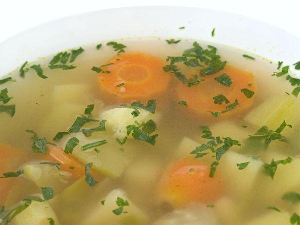 Zemiaková polievka s mrkvou |