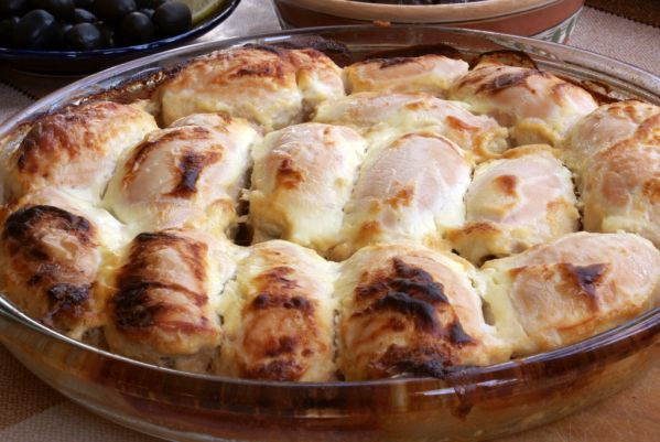 Kuracie prsia so zemiakovou kašou |