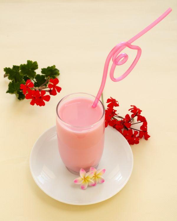 Jahodové mlieko |