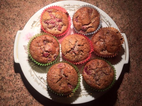 Makovo-višňové muffiny |