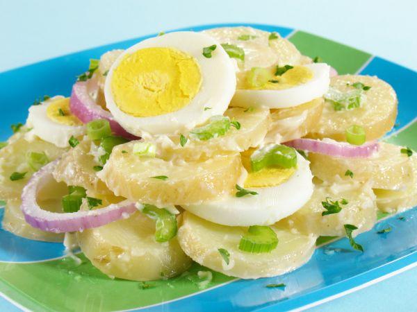 Letný zemiakový šalát |