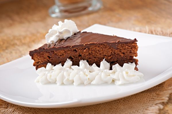 Rýchla Sacherová torta |
