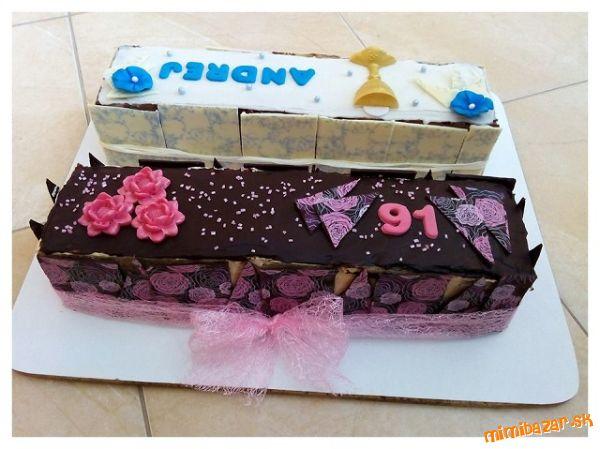 Rezy ako tortičky jedna na birmovku druhá na narodeniny