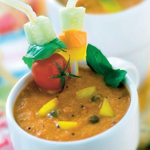 Studené gazpacho |