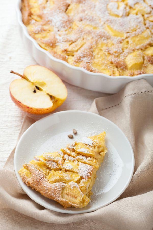 Jemný jablkový koláč  