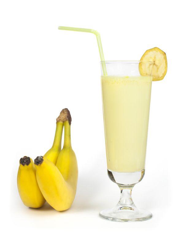 Medové chladené banánové mlieko s mrkvovou šťavou |