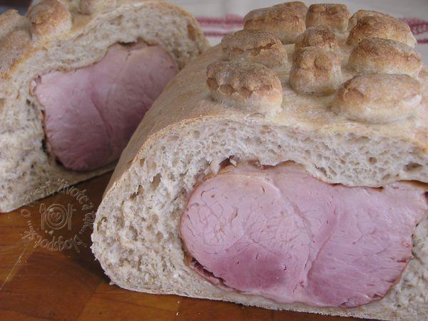 Veľkonočná šunka v chlebe  