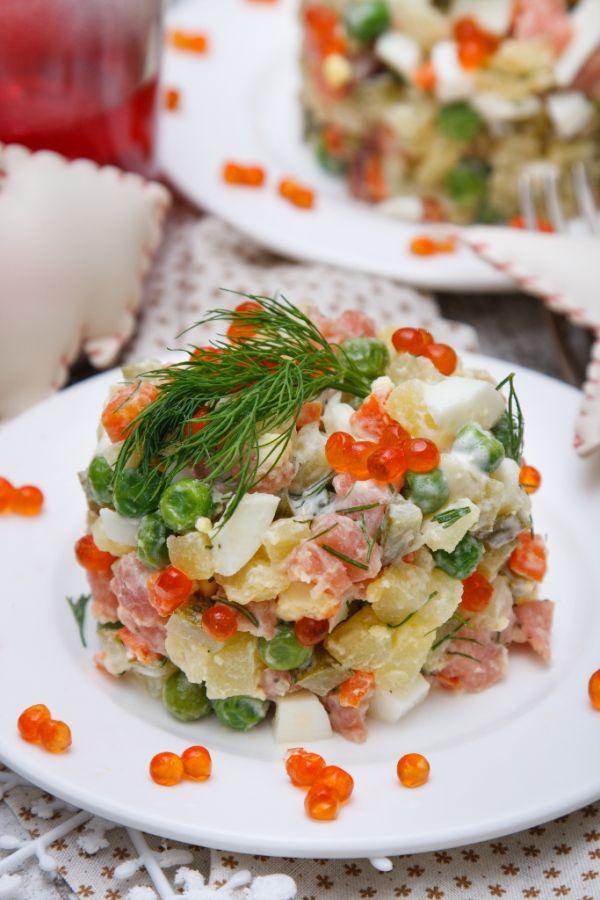 Lososovo- zemiakový šalát |