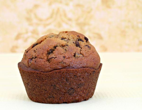 Tekvicové muffiny s kúskami čokolády  paleo |
