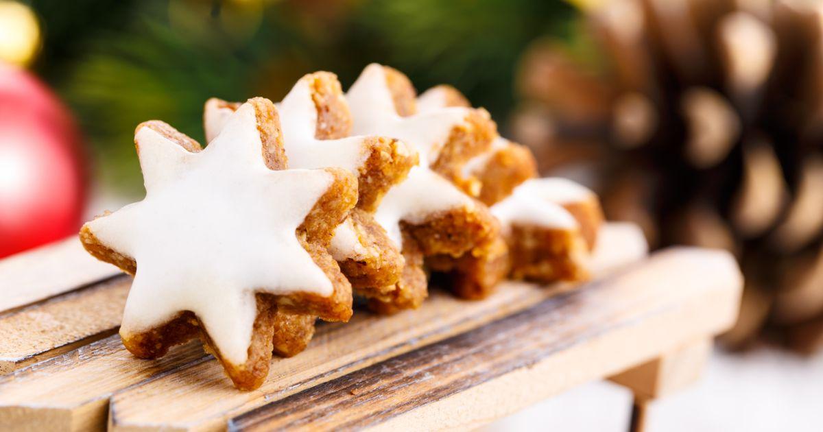 Vianočné škoricovo-mandľové hviezdičky, fotogaléria 1 / 1.