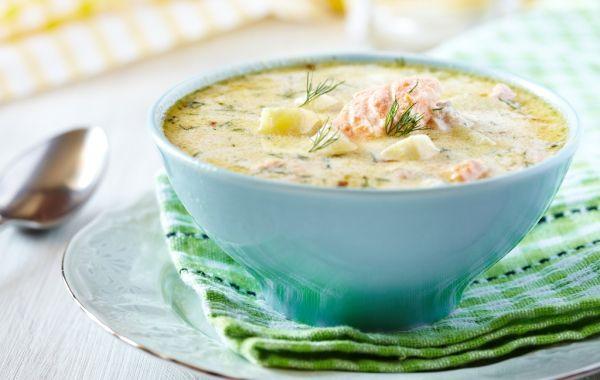 Kyslá rybacia polievka so zeleninou |
