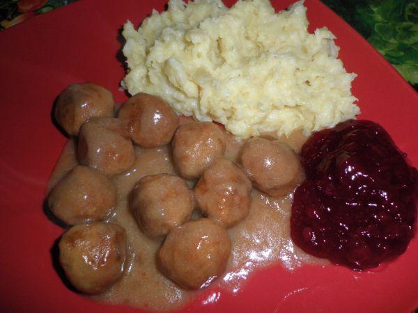 Švédske mäsové guľôčky |