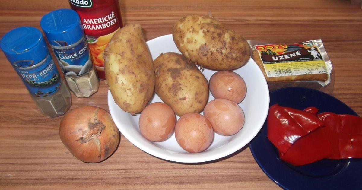 Zemiakovo-vajíčková omeleta, fotogaléria 2 / 10.
