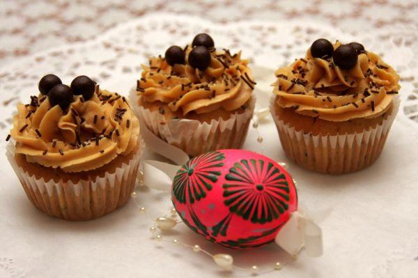 Cupcakes s karamelovým krémom |