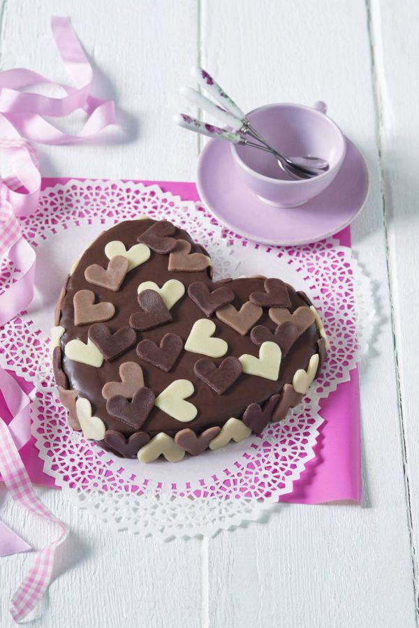 Valentínske marcipánové srdce |