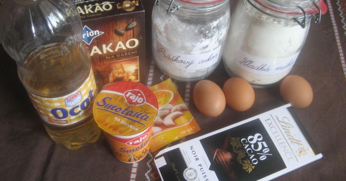 Čokoládová Pavlova torta, fotogaléria 2 / 6.