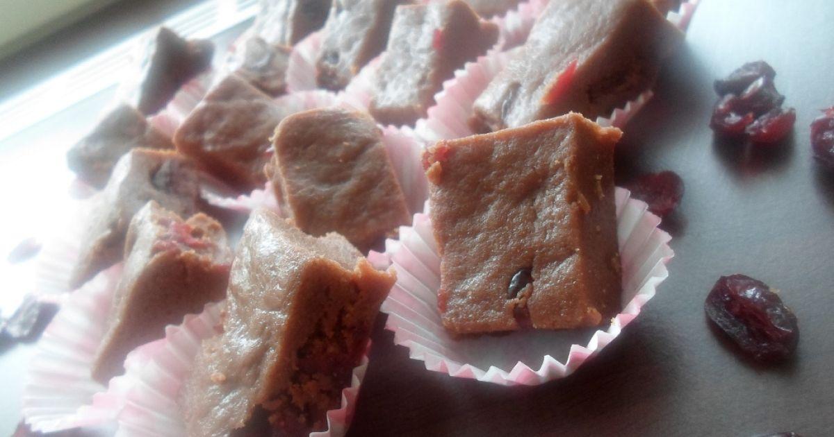 Čokoládový fondán s brusnicami, fotogaléria 1 / 5.