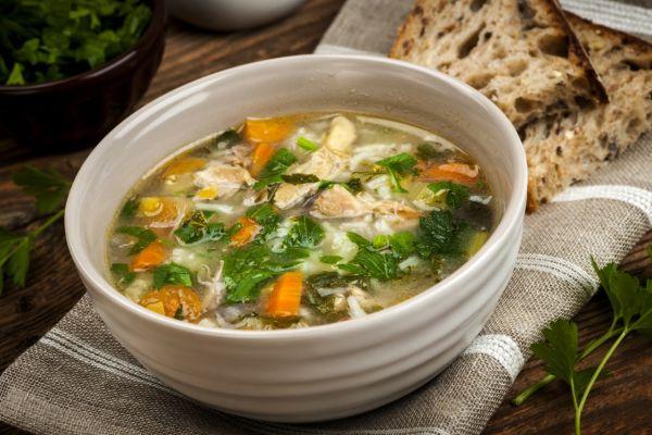 Zeleninová polievka z bravčového mäsa |