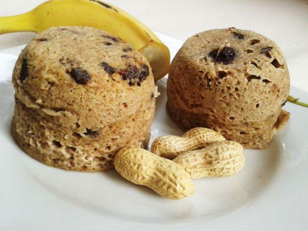 Fitness muffinky z mikrovlnky |