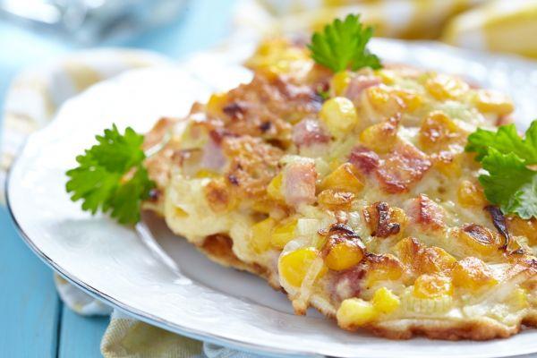 Zemiaková omeleta so šunkou |