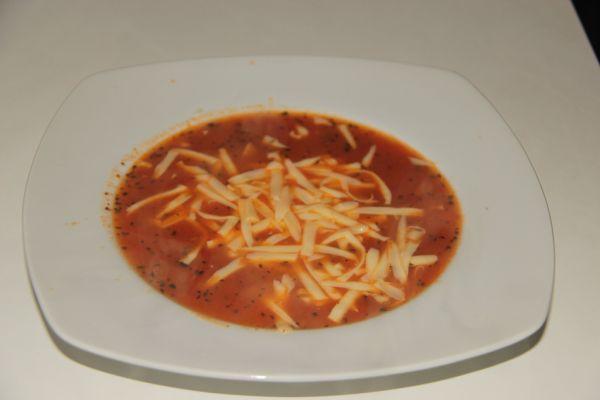 Paradajková polievka z čerstvých paradajok |