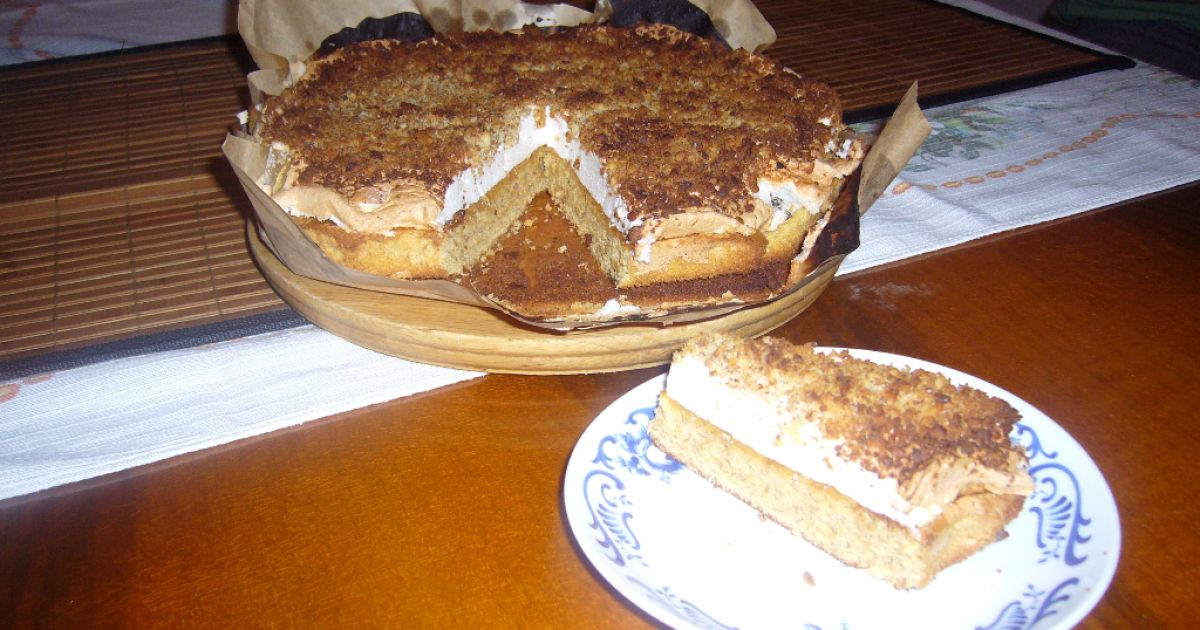 Jednoduchý orechový koláč, fotogaléria 1 / 4.