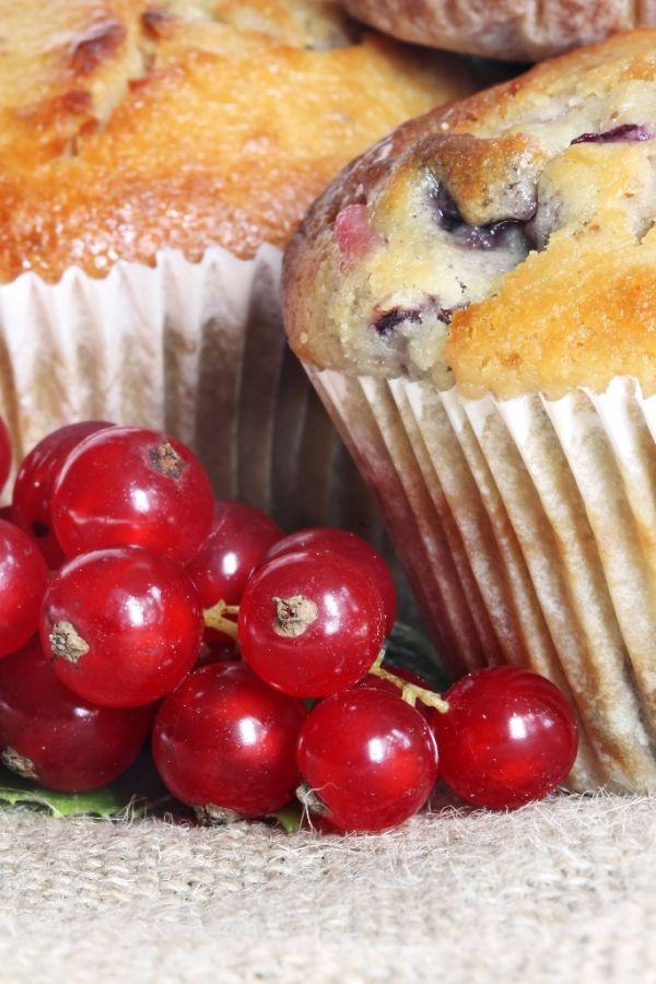 Muffiny s ríbezľami |