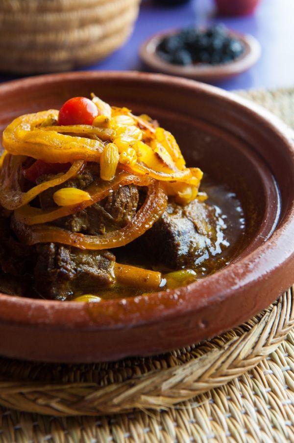 Marocké hovädzie kúsky |