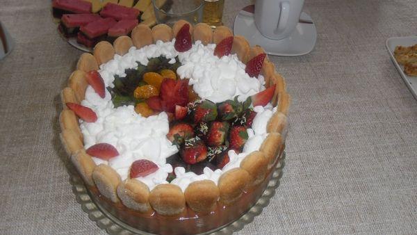 Tvarohovo-ovocná torta |