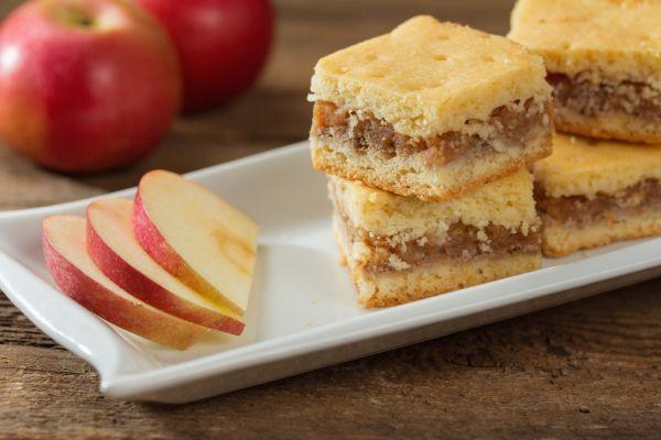 Jednoduché jablkové rezy |
