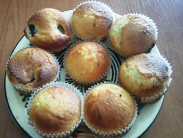 Marhuľové muffiny |