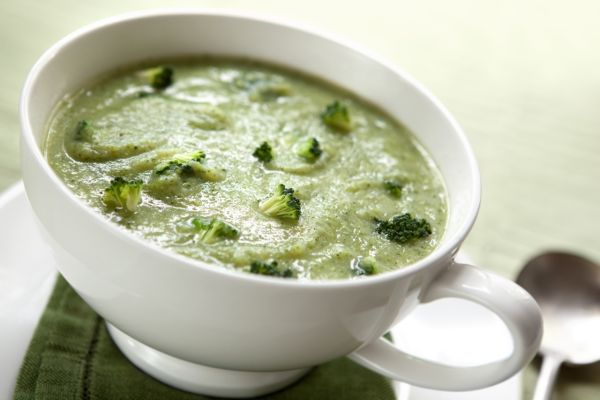 Hustá brokolicová polievka s ovsenými vločkami |