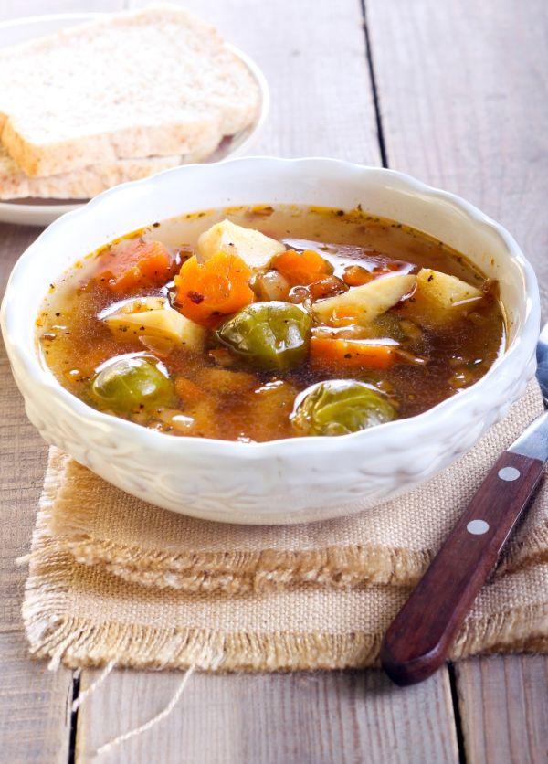 Pikantná zeleninová polievka |