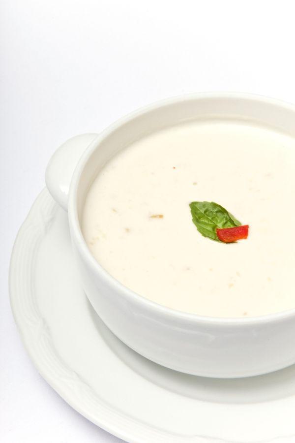 Kalerábová polievka so smotanou |