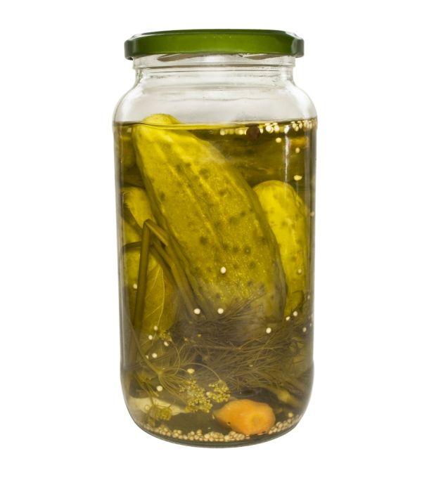 Pikantné sterilizované uhorky |