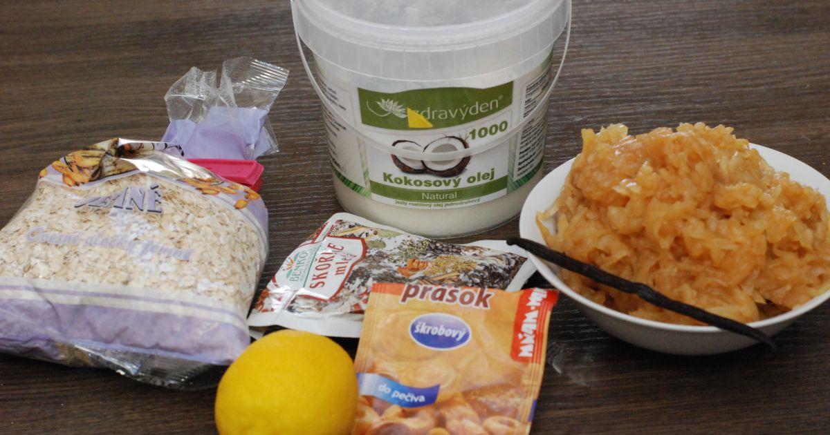 Jablkovo-ovsený koláč s perníkovou arómou, fotogaléria ...