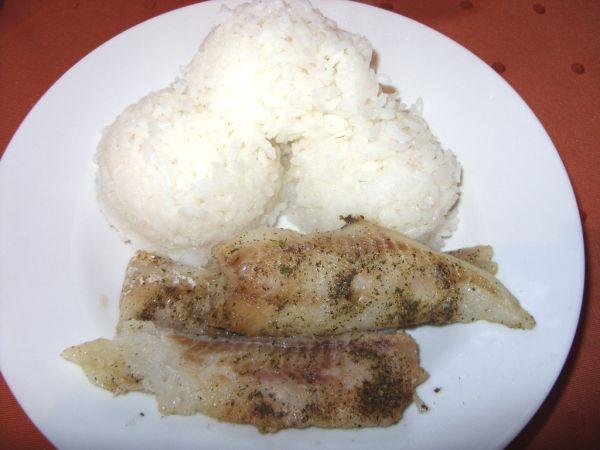 Rybie filé na cesnaku |