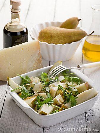 Ovocný šalát so syrom a s feniklom |