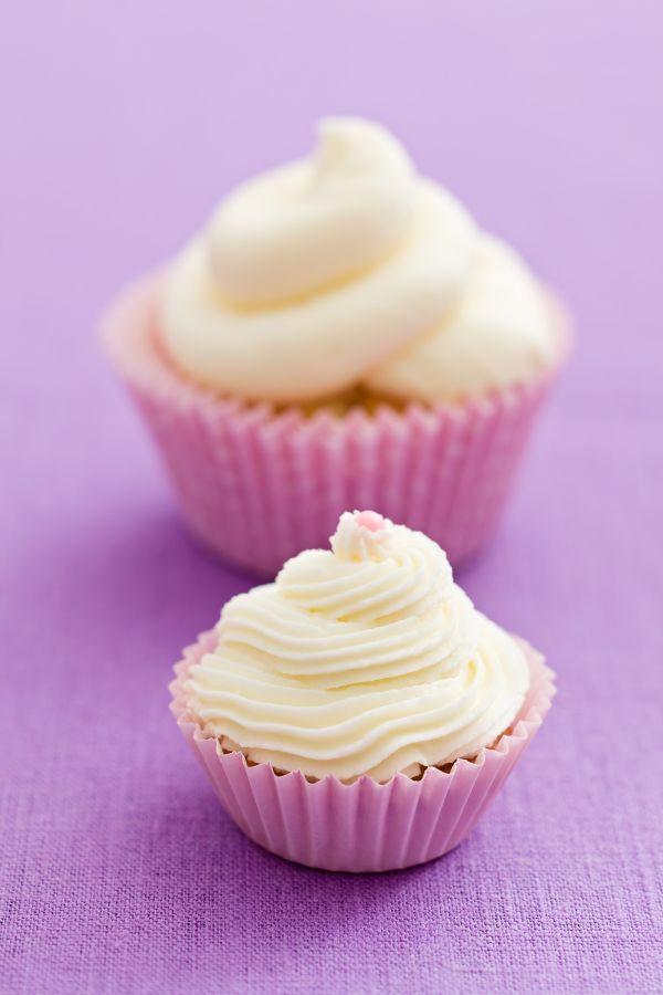 Neodolateľné vanilkové cupcakes |