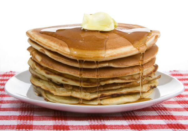 Pravé americké lievance (American pancakes) |
