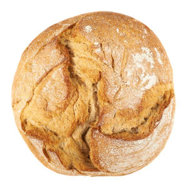 Okrúhly chrumkavý chlieb |