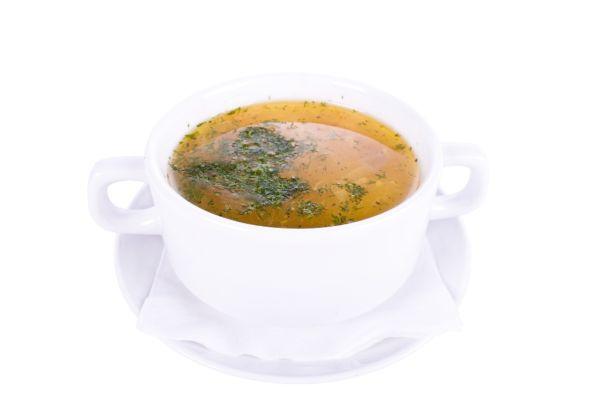 Rascová polievka s opraženou žemľou |