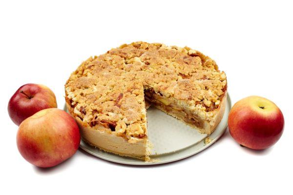 Jablkový koláč s posýpkou |