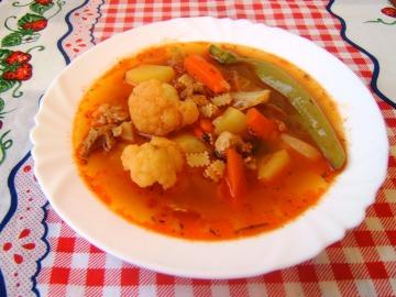 Kecskemétská gulášová polévka  Recepty na každý den