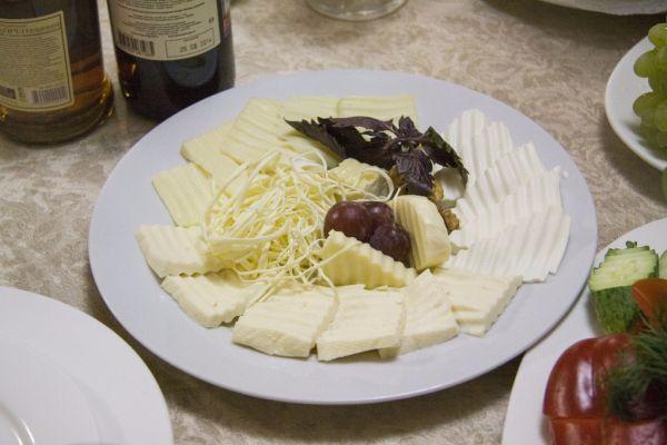Misa z miešaného syra |