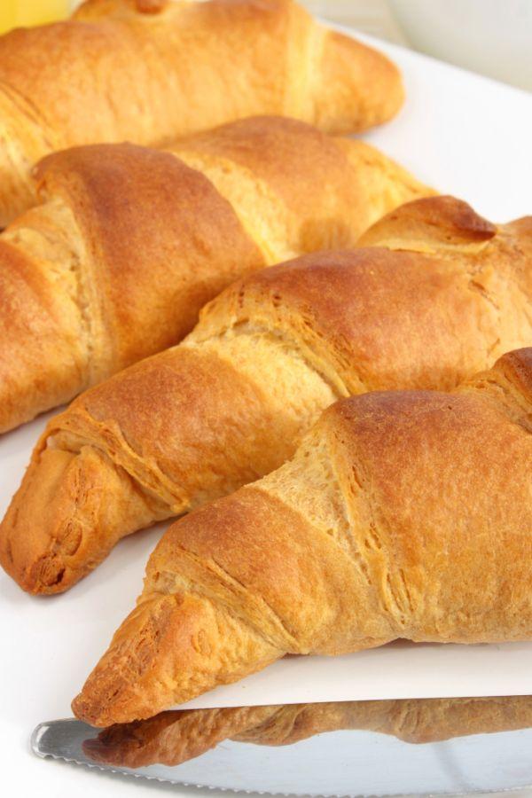 Maslové croissanty |