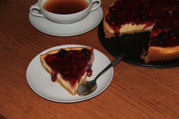 Cheesecake s ovocím |