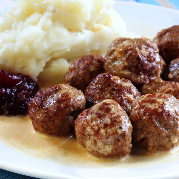 Švédske mäsové guľky |