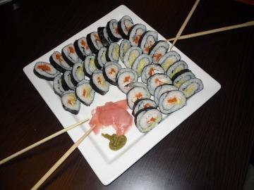 Domácí sushi  Recepty na každý den